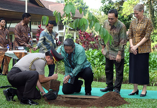 Indonesian President At CIFOR