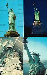 Statue of Liberty postcards (terry lorenc) Tags: jhs class 1967 jamestown high school new york