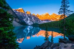 Moraine Lake Sunrise (Sneezzzzz) Tags: banffnationalpark morainelake sunrise canada