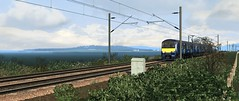 Suburban Glasgow - Out From The Sticks (onelimatwenty) Tags: train ts2015 ts2016 trainsimulator ts2017 simulator sim scotrail class320 dustybin glasgowqueenstreet suburbanglasgow northclydelines tluamiani springburn helenburgh central