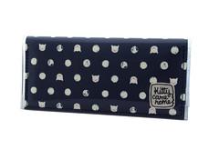DSC_0390_ (Kitty Came Home) Tags: kittycamehome bifoldclutch clutch purse wallet handmadewallet slimwallet australianmade samade wellmade handmadeinaustralia catlady polkadots