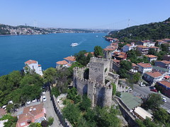 Anadolu Hisarı (Anatolian Castle) from the air (CyberMacs) Tags: projectweather air anadoluhisari anadoluhisarı anatoliancastle basilica beykoz bosporus boğaz building bástya clearday dronephotography fsmköprüsü fatihsultanmehmetbridge fatihsultanmehmetköprüsü fort fortress güzelcehisar istanbul köprü phantom3 places skyphotos suspensionbridge turkey wall aerial aerialphotography castle drone droneography fromabove outdoor rook thepropercastle tower tr