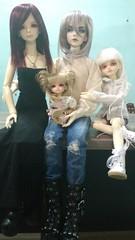 <3 (Fernanda_Tarcea) Tags: bjd doll family leelo samir lilith himeko