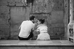 Lovers from behind II (De Mi Ser) Tags: candid street city urban love couple girl man