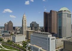 Columbus Up Close (player_pleasure) Tags: inspire1pro columbus ohio drone architecture downtown cityscape centralohio capital ariel hdr