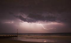 Lightnining Show in Bournemouth (SedatPhotography) Tags: lightnining show bournemouth dorset weather