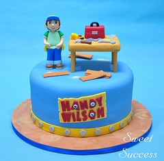 Handy Manny Cake (sweetsuccess888) Tags: sweetsuccess cake birthdaycake handymanny handymannycake carpenter carpentry construction constructionparty disney disneyjunior philippines