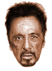 Al Pacino color (rage_of_reason) Tags: alpacino digitalpainting portrait