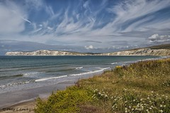 Isle of Wight - Freshwater Bay 3 (Philip Lench) Tags: isleofwight freshwaterbay hampshire whitecliffs seascape seaside seaview