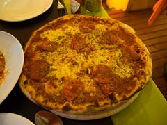 P7151081 (tatsuya.fukata) Tags: thailand samutprakan cabanagarden restaurant italian food pizza diavola