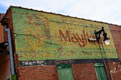 Mayflower Ghost Sign, Wichita, KS (Robby Virus) Tags: wichita kansas ks ghost sign signage faded brick wall ad advertisement forgotten mayflower moving van lines movers