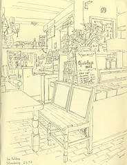 Taverne des Serruriers - Strasbourg (lolo wagner) Tags: usk croquis sketch strasbourg alsace