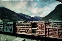 Tintype Boxcar (Neal3K) Tags: hipstamatictintypeapp fujix100s colorado durangotosilvetonrr rr railroad boxcar