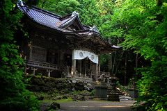 Magical Towada Shrine In Aomori, Japan (El-Branden Brazil) Tags: laketowada aomori shinto shintoism shrine japan japanese religion mystical magical holy sacred asia asian