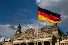 reichstag with flag (georgerebello1) Tags: photo canon 6d 24105 mm l series f4 photography art travel explore adventure