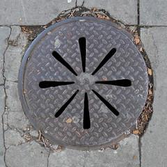 Cover (moley75) Tags: london centrallondon victoriaembankment manhole ironwork accesscover