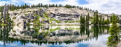 Jackass Lake (DF Shryock) Tags: nature reflection sierranevada highsierra sierranationalforest anseladamswilderness nikond5500