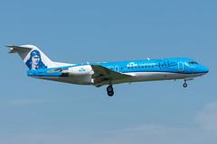 KLM / F70 / PH-KZU / EHAM 06 (_Wouter Cooremans) Tags: eham ams amsterdam amsterdamschipholairport amsterdamschiphol schiphol spotting spotter avgeek aviation airplanespotting klm f70 phkzu 06 anthony fokker livery anthonyfokkerlivery