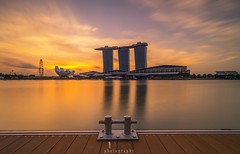 Marina Bay. (jaywu661) Tags: explore inexplore instagram reflections sony nisifilters marinabaysands marinabay longexposure cityscape landscape singapore ngc