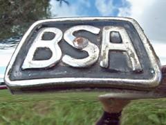 524a BSA Badge - History (robertknight16) Tags: bsa british birmingham docker badge badges automobilia silverstone