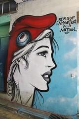 Rebus_2475 Village 13 - rue de Tolbiac Paris 13 (meuh1246) Tags: streetart paris village13 ruedetolbiac paris13 bonnet rebus