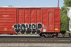 Voyer (Psychedelic Wardad) Tags: freight graffiti dlr voyer
