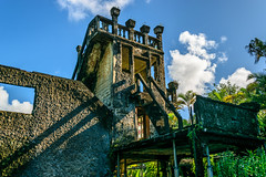 The Castle, Paronella Park (stephenk1977) Tags: australia queensland qld cairns innisfail paronellapark tropical castle ballroom turret ruin nikon d3300