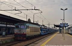 E652 081 (MattiaDeambrogio) Tags: treno treni train trains e652 trenitalia bisarche fiat melfi alessandria