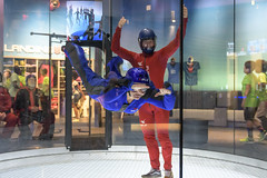Amanda Skydiving in an Indoor Vertical Wind Tunnel (Chris Sgaraglino) Tags: amandaskydivinginanindoorverticalwindtunnel tampa florida usa