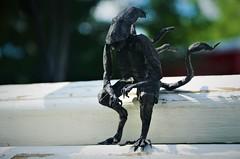 Sad KeanuMorph (Nikita Vasiliev) Tags: origami origamiart paper paperart alien xenomorph ob猫~ movie film horror meme keanureeves sadkeanu