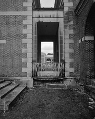 Portals (DKAIOG) Tags: 4x5 berggerpancro400 blackwhite largeformat pyrocatmc travelwide904x5filmcamera film monochrome safe