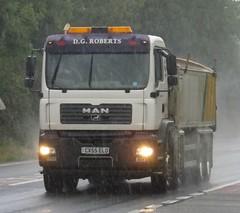 D G Roberts CX55 ELO (joshhowells27) Tags: lorry truck man tipper mold dgroberts