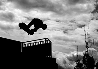 Skaters Silhouette