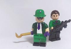 RIDDLER & HENCHMAN (ALP CUSTOMZ) Tags: legocustom riddler henchman dccomics batman minifigures
