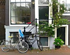 Amsterdam (themancos) Tags: amsterdam holland olanda facciata facade casa home house bike bicicle bicicletta