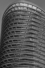 Balconies (Seasider1000) Tags: docklands architecture monochrome city building skyline tower