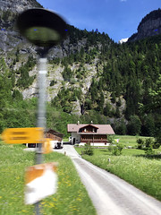 Alps Trip 0873m (mary2678) Tags: switzerland europe honeymoon mountain mountains lauterbrunnen valley bus waterfall rick steves myway alpine tour