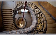 """""""Musée des Beaux-Arts"""" - Nancy (Meurthe-et-Moselle, Lorraine, France) (LauterGold) Tags: treppe muséedesbeauxarts beauxarts mban nancy museum museumderschönenkünste escalier stair escaleros placestanislas unescoworldheritage hdr"""