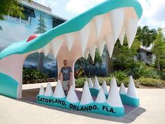 Gatorland, Orlando FL (kenjet) Tags: me self ken kenjet kenny florida orlando gatorland