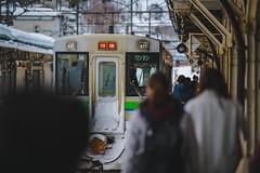JR Hokkaido | KiHa 150 Series | Otaru Station (Pumpkin Kuma) Tags: otaru station hokkaido japan platform jr jrh railway rail 小樽 キハ150 気動車