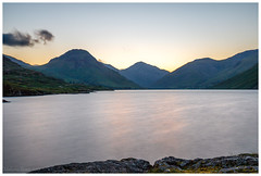 Hidden sunrise. (malcbawn) Tags: wasdale landscape greatgable lakedistrict nationalpark lingmellfell scafell wasdalehead pillar clouds unesco lakes kirkfell outdoors yewbarrow wastwater mosedale mountains malcbawnphotography