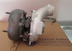 Turbo GT2056V Cherokee (Marcos Turbo) Tags: turbo turbina jeepcherokee garrett conserto