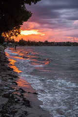 The shoreline (.Stephen..Brennan.) Tags: da21 pentaxk3 seascape southaustralia stansbury sunset australia