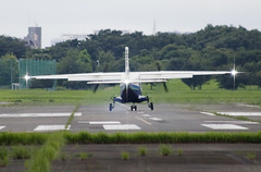 A SMALL AIRPORT, SOME PARKS AND CLOUDS - CII (Jussi Salmiakkinen (JUNJI SUDA)) Tags: chofu tokyo japan cityscape park airport sky aircraft wood airplane landscape tama 調布 飛行場 空港 林 森 空 武蔵野 多摩 東京 日本 風景 航空 july summer