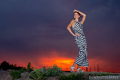 Nadine... (dgwphotography) Tags: model sunset portrait gulfbeach milfordct 1735mmf28d nikond600 magmod magsphere
