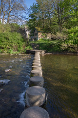 Stepping Stones, Rothbury, Northumberland (Geraldine Curtis) Tags: steppingstones rothbury northumberland