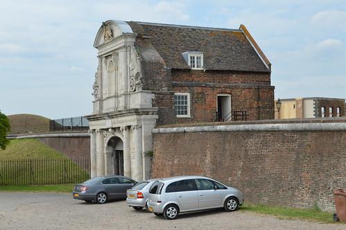 Tilbury Fort gatehouse
