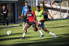 duel (Oliver Dom Photography) Tags: sport topsport foot action actionphotography nike nikon nikond750 sigma sigma150600sport monaco asmonaco training ball football pro prof team france frenchriviera lafrance southoffrance cotedazur sportsphotography photography photo ilovephotography