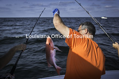 CocodrieCharterFishing (6) WM (Louisiana Tourism Photo Database) Tags: fishing gulf gulfofmexico southernunitedstates angler anglers boating catchingfish charterboat offshore oiandgasrigs outdoorsports outdoors redsnapper southlouisiana water cocodrie louisiana usa