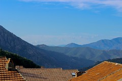 After the storm (Barrie T) Tags: rooftops corsica vivario mountains view